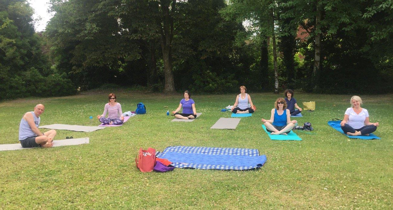 Sunday yoga club